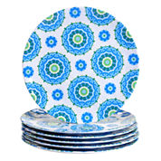 Certified International Boho 6-pc. Dinner Plate