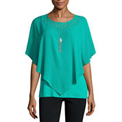 Alyx Neck Lace Popover Top
