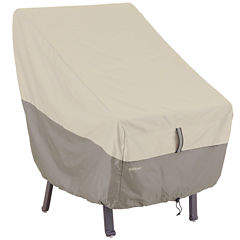 Classic Accessories® Belltown StorageSaver™ Patio High-Back Chair Cover