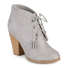 Journee Collection Wen Heeled Ankle Booties
