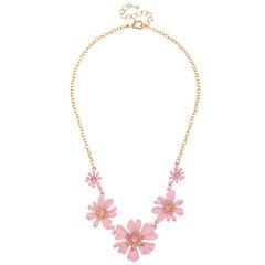 Decree Pink Statement Necklace