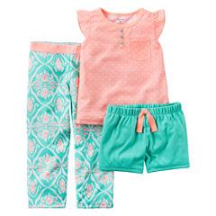Carter's 3-pc. Diaper Cover Set - Toddler Girls