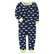 Carter's Short Sleeve One Piece Pajama-Baby Boys
