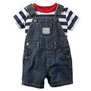 Carter's 2-pc. Shortall Set Baby Boys