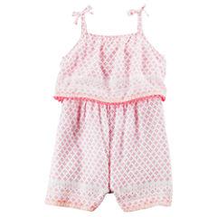 Carter's Short Sleeve Romper - Baby Girl