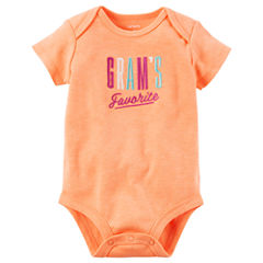 Carter's Short Sleeve Bodysuit - Baby Girl