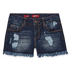 Arizona Knit At Waist Shortie Shorts - Big Kid Girls