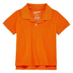 Arizona Short Sleeve Solid Polo Shirt - Baby Boys