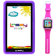 LINSAY® Kids Bundle with Pink Kids Smartest Watch on Earth with Camera and 7