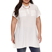 Ashley Nell Tipton for Boutique + Tunic Top Plus