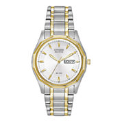 Citizen® Eco-Drive® Mens Two-Tone Watch BM8434-58A