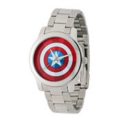 Marvel® Captain America Mens Stainless Steel Watch