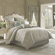 Queen Street® Carlina 4-pc. Jacquard Comforter Set