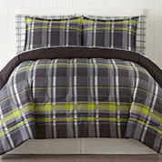 Home Expressions™ Harley Plaid Complete Bedding Set with Sheets