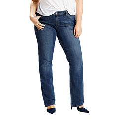 Levi's® 414™ Classic Straight 5-Pocket Jeans - Plus