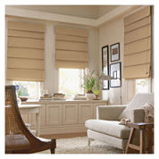 JCPenney Home™ Custom Savannah Roman Shade - FREE SWATCH