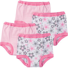 Gerber 4 Pair Potty Training Pants Girls