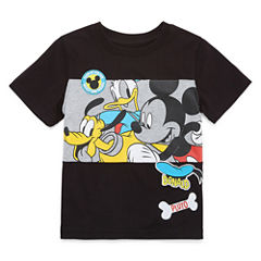 Disney By Okie Dokie Mickey Mouse Graphic T-Shirt-Preschool Boys