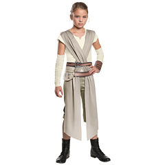 Star Wars:  The Force Awakens - Classic Rey Costume For Girls - Large