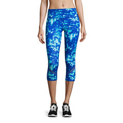 Xersion Colorblock Mesh Capri
