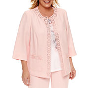 Alfred Dunner Suit Jacket-Plus