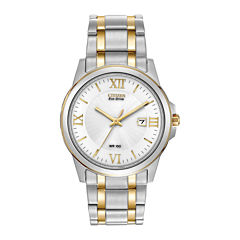 Citizen® Eco-Drive® Mens Two-Tone Bracelet Watch BM7264-51A