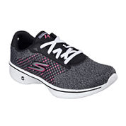 Skechers® Go Walk 4 Lace-Up Womens Sneakers