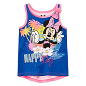 Disney Apparel by Okie Dokie® Minnie Mouse Tank Top - Preschool Girls 4-6x