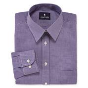 Stafford® Long-Sleeve Travel Performance Regular Fit Broadcloth Dress Shirt