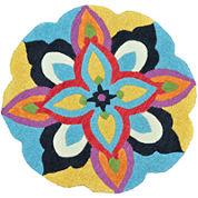 Loloi Azalea Wool Round Rug