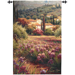 Art.com Iris Fields Wall Tapestry