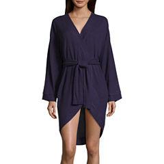 Long Sleeve Rayon Robe