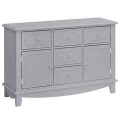 Million Dollar Baby Sullivan 5-Drawer Nursery Dresser - Gray