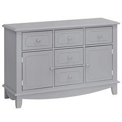 Million Dollar Baby Sullivan 5-Drawer Nursery Dresser - Gray
