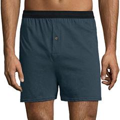 Hanes® 4-pk. Knit Boxers