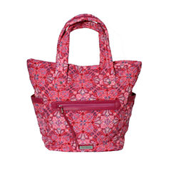 Waverly Paisley Quilted Large Tote Bag
