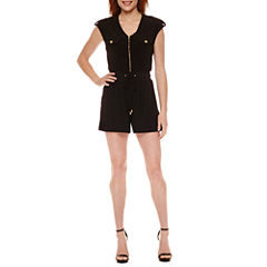 Emma And Michele Short Sleeve Romper