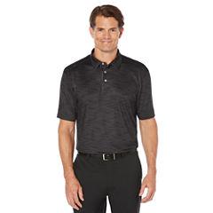 PGA TOUR Short Sleeve Pattern Jersey Polo Shirt