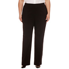 Worthington Slim Fit Slim Pants-Plus