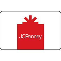 JCP Red Gift Card