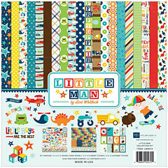 Echo Park Paper 14-pc. Little Man Collection Kit