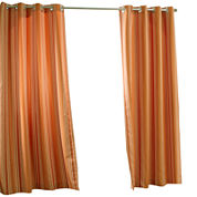 Gazebo Stripe Grommet-Top Outdoor Curtain Panel