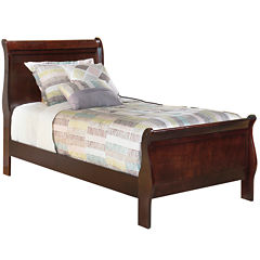 signature design by ashley rudolph sleigh bed
