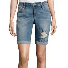 a.n.a® Denim Bermuda Shorts