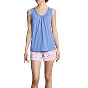 Earth Angels® Sleeveless Top and Boxer Shorts Pajama Set