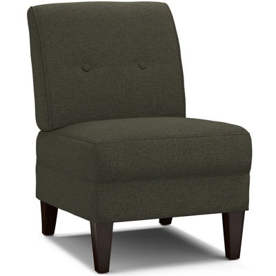 frankie armless tufted slipper accent chair - Slipper Chairs
