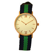 Olivia Pratt Womens Blue Strap Watch-60001