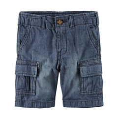 Carter's Straight Fit Woven Cargo Shorts - Preschool Boys