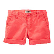 OshKosh B'gosh® Rolled Cuff Shorts – Toddler Girls 2t-5t