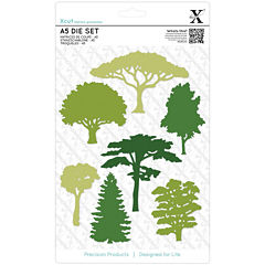 docrafts 8-pc. Woodland Trees Dies